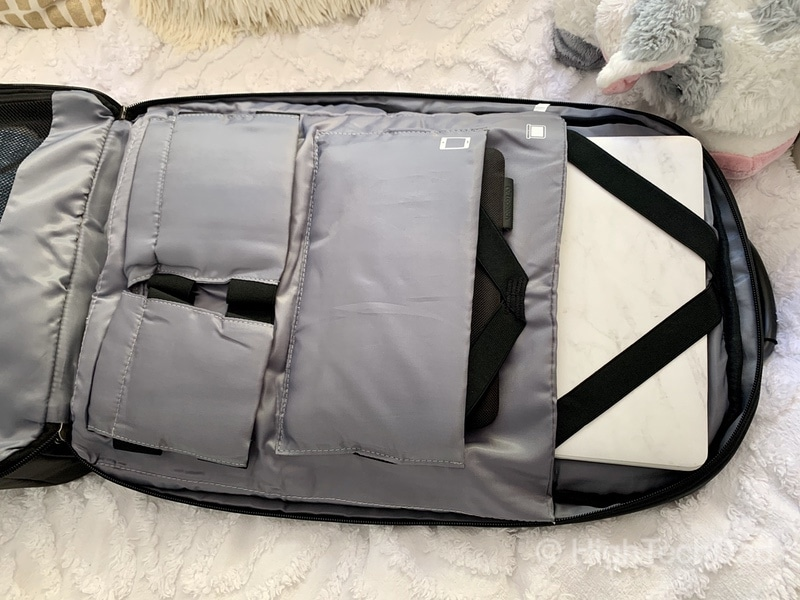 HighTechDad Reviews Nayo Almighty backpack - laptop and tablet pockets