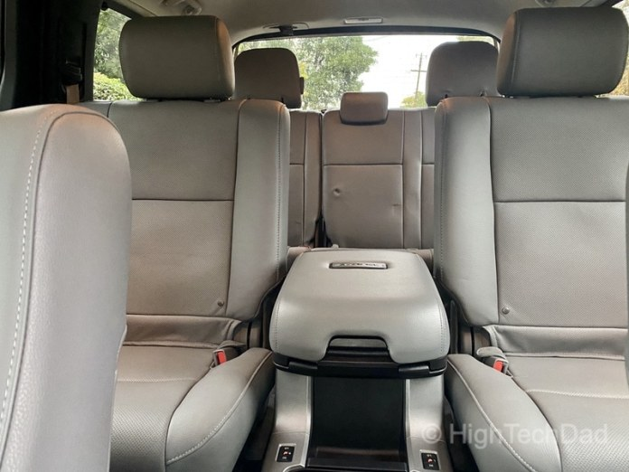 HighTechDad, Toyota Season of Giving & the 2019 Toyota Sequoia - seating for 7