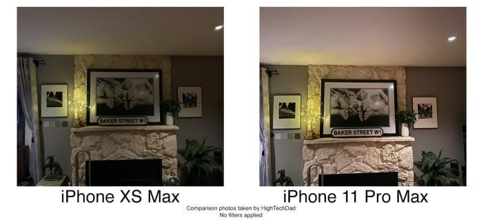HighTechDad tests iPhone 11 Pro Max - indoor shot