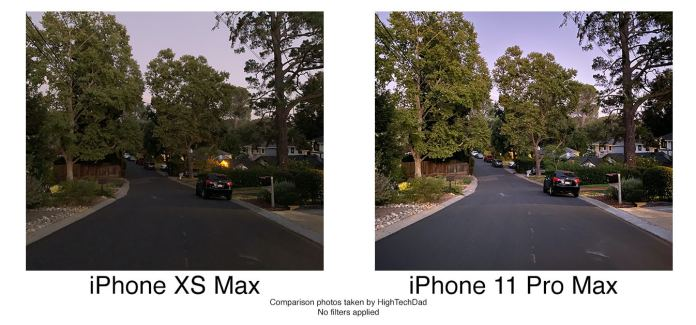 HighTechDad tests iPhone 11 Pro Max - details come out even a lower light