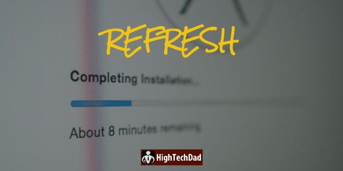 HighTechDad - do an in-place reinstall or refresh of your macOS or operating system