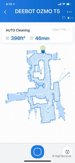Mapping out the house - Ecovacs Deebot T5