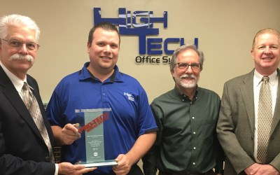 High Tech Office Systems Receives Konica Minolta's Highest Service Honors