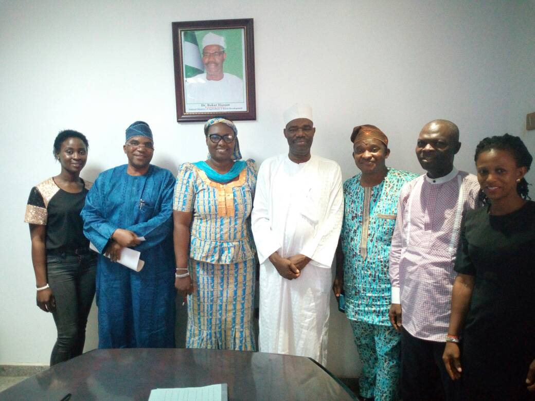 HTCWY signs MOU with the Federal Ministry of Agriculture, Abuja