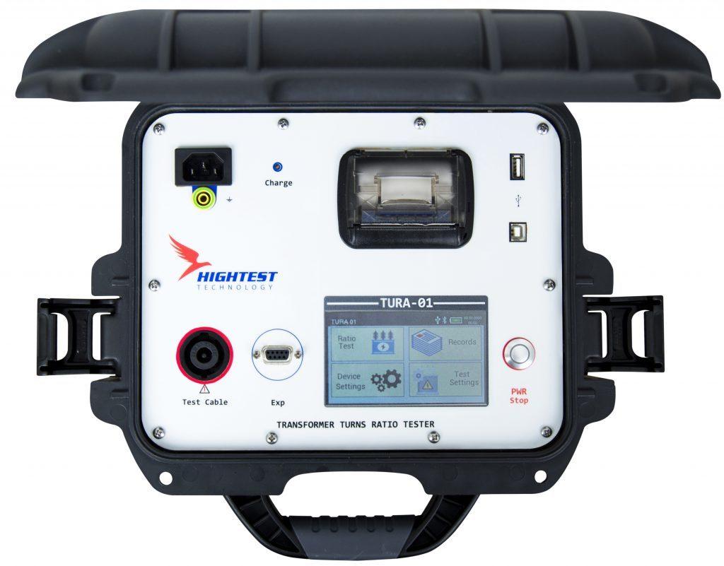 Tura 01 Single Phase Transformer Turns Ratio Tester