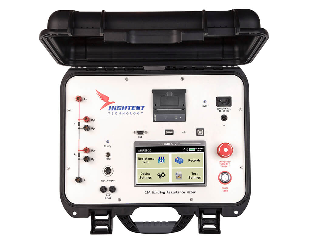 Tura 03 Three Phase Transformer Turns Ratio Tester With