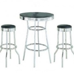 High Top Table Chair Set Predator Hunting Create A Casual Dining Experience With Tables Chrome And Stools Chairs