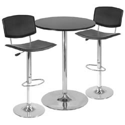 high top table chair set custom bean bag chairs bar tables liven up party conversation