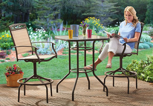 bar height table and chairs outdoor a chair discover the best sets castlecreek patio furniture set