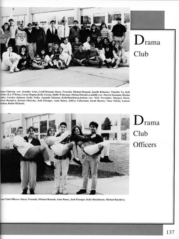 1993 Yearbook Page