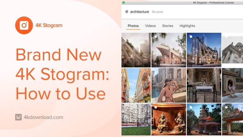 How To Download Photos and Stories from Instagram with 4K Stogram
