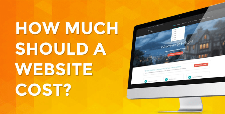 How much should the website cost for anyone making it?