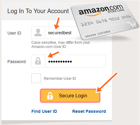 Syncbank.com/Amazon Payment Credit Card Account