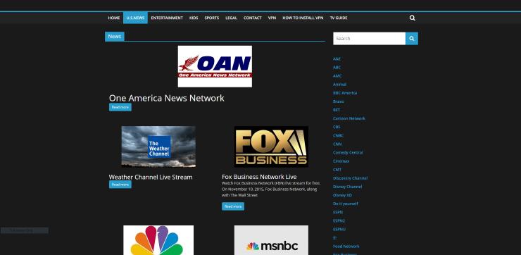 USTV247.tv Alternative Streaming Service