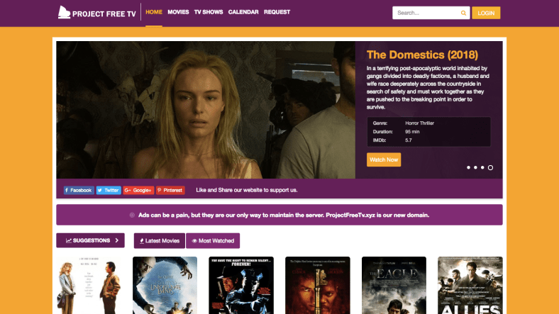 9 Project Free TV Alternative websites to Watch Movies of 2021