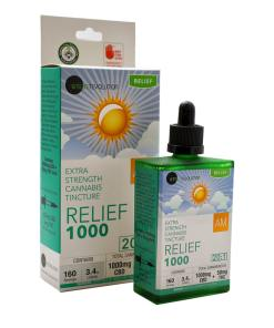 20:1 Relief 1000 AM Tincture 1050mg