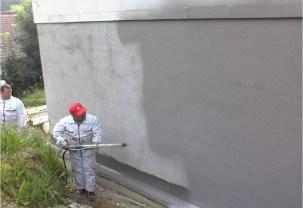 Natryskowa izolacja fundamentu w technologii Schomburg