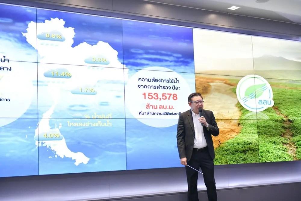 """""""สื่อสารสถานการณ์วิกฤตน้ำประเทศไทยปี 2564"""""""