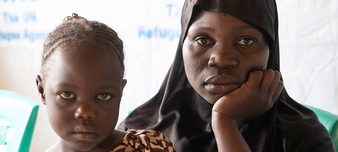 Fati Yahaya fled to Cameroon after escaping armed insurgents in Nigeria.UN Photo/Eskinder Debebe