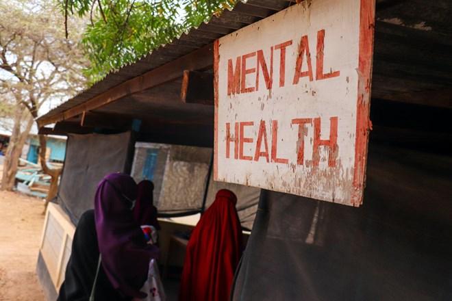 MSF's mental health clinic in Dagahaley camp. Kenya, September 2020./MSF