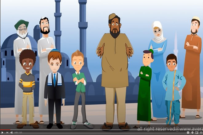 """The Average Mohamed videos take their visual cues from South Park. Creator Mohamed Amin Ahmed contracts out the animation to India. """"You do everything that every American company has done: outsource,"""" he said. Credit: Photo courtesy """"Average Mohamed"""""""