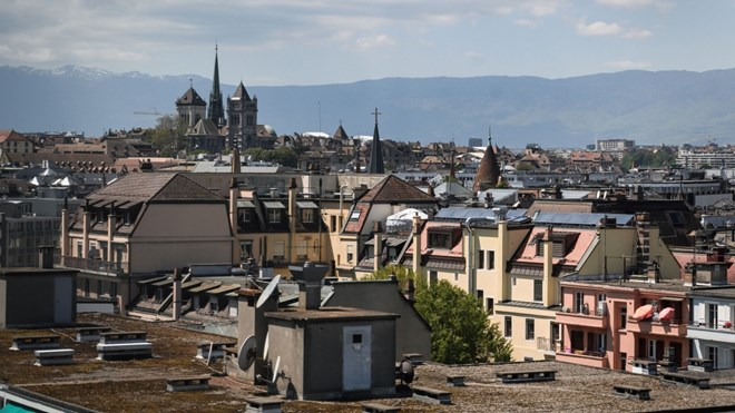Voters in Geneva, Switzerland, have agreed to introduce a minimum wage in the canton that is the equivalent of US$25 an hour. (Fabrice Coffrini/AFP/Getty Images/CNN)