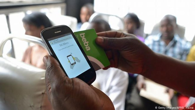 Kenyans have for years used various phone-based money transfer services