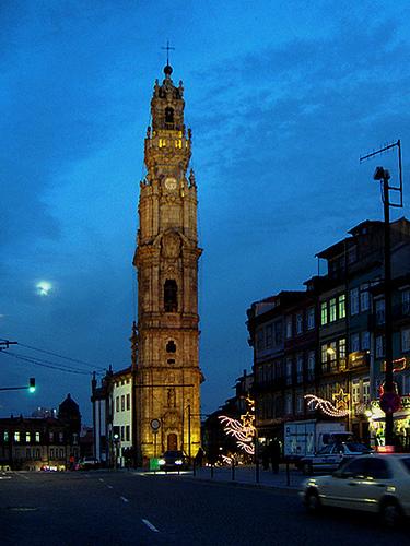 Portugal Itinerary: Torre de los clerigos