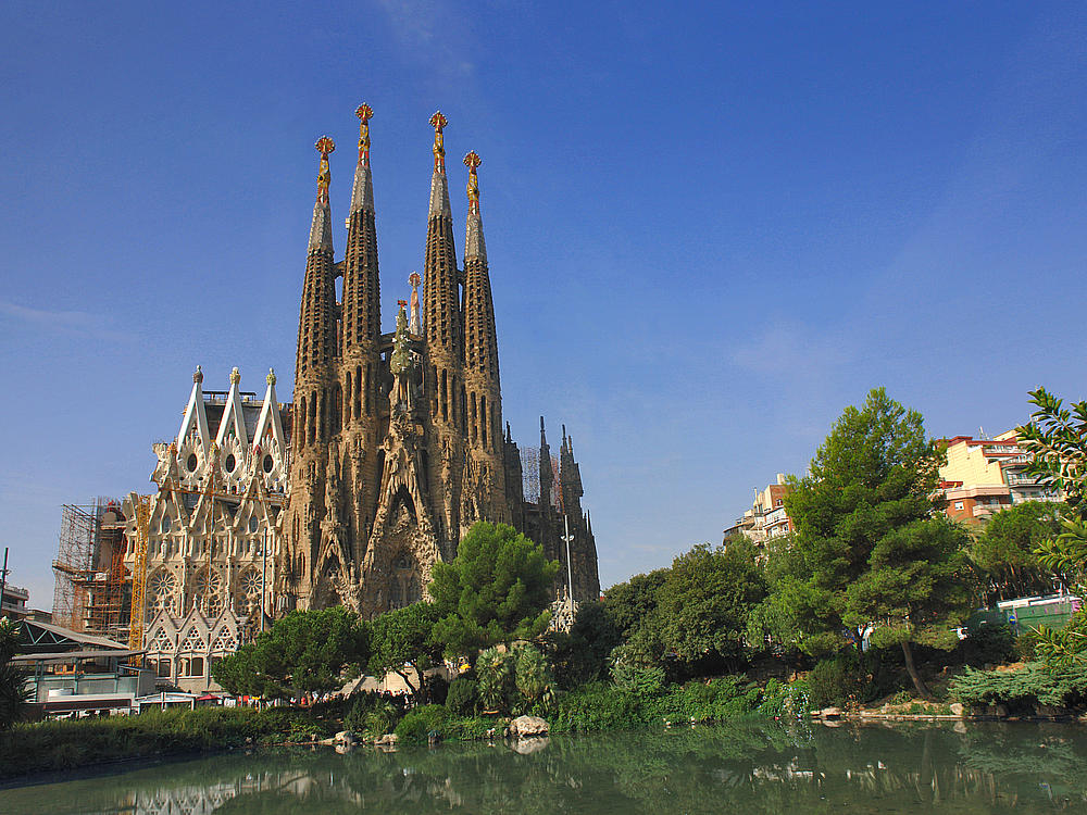 Spain Itinerary: Sagrada Familia