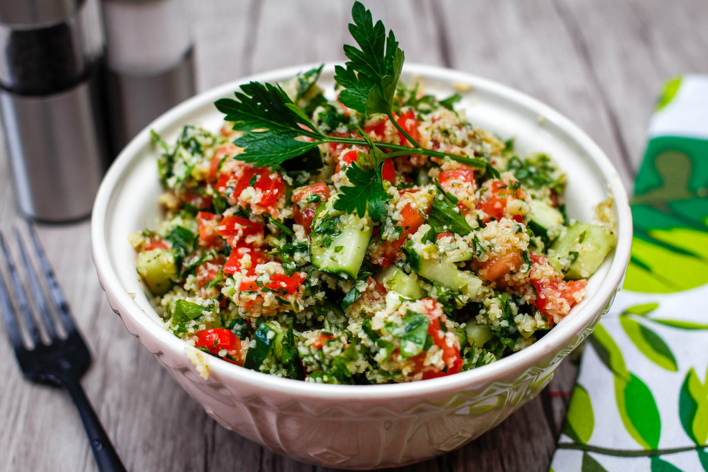 Halal Food in Italy: Taboule