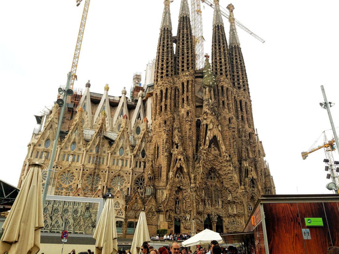 3 Day Barcelona Itinerary: Sagrada Familia