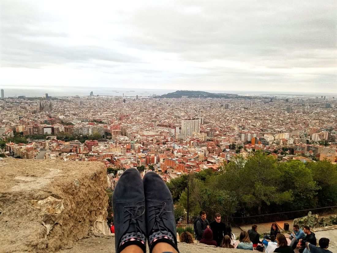 3 day Barcelona Itinerary: Bunkers del Carmel