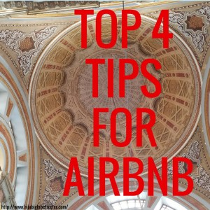Airbnb, Tips