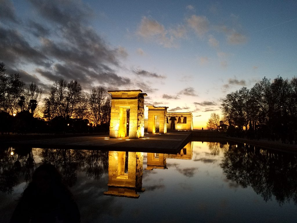 Halal Guide in Madrid-Templo de debod