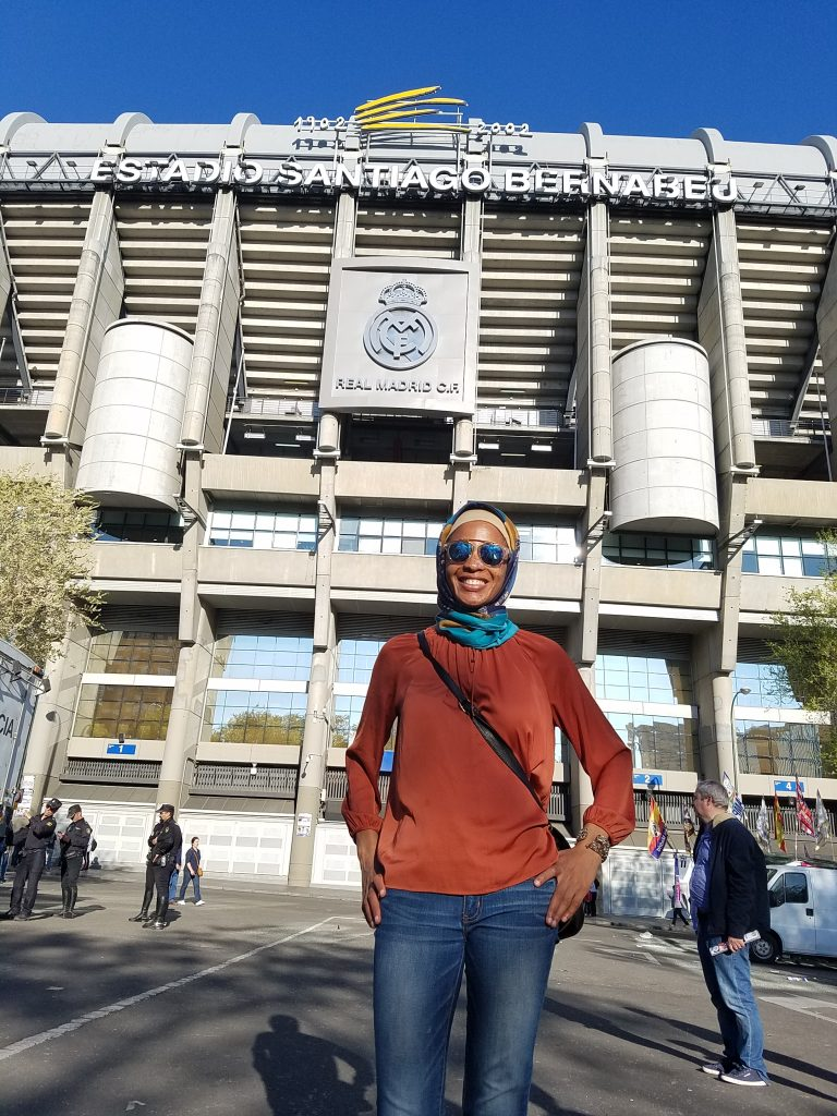 Halal Guide in Madrid- Real Madrid