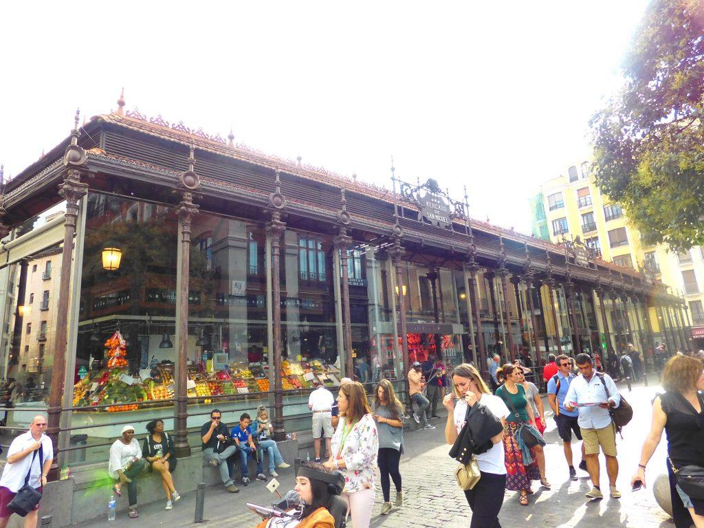 Halal Guide in Madrid- Mercado de San Miguel