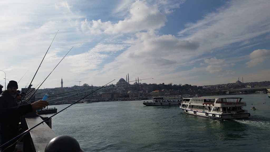 Is Istanbul safe for a woman to travel alone?: Fishermen