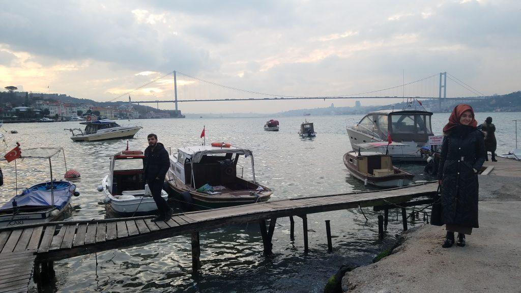 Istanbul Itinerary: Bosporus bridge