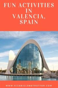 Valencia Itinerary- Ciencias