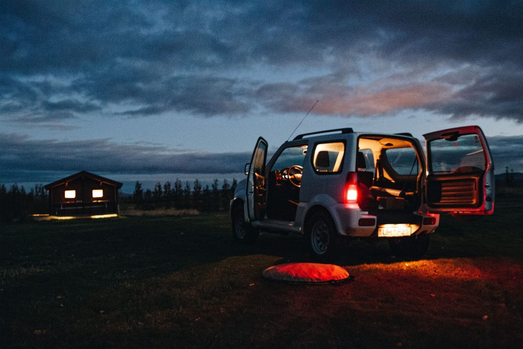 Rental car in Iceland