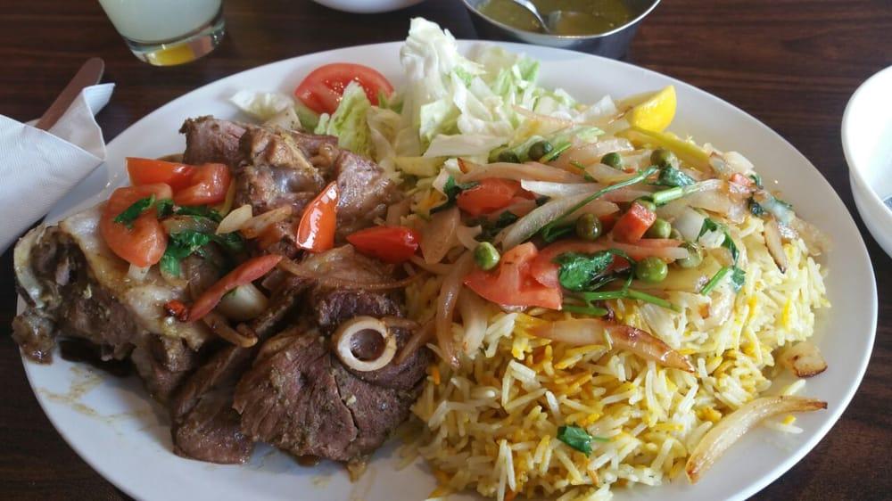 Halal restaurants in Toronto- Sahan Restaurant