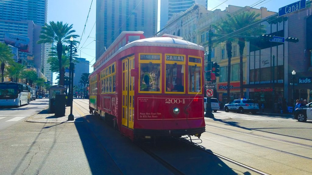 New Orleans Itinerary: Cable car