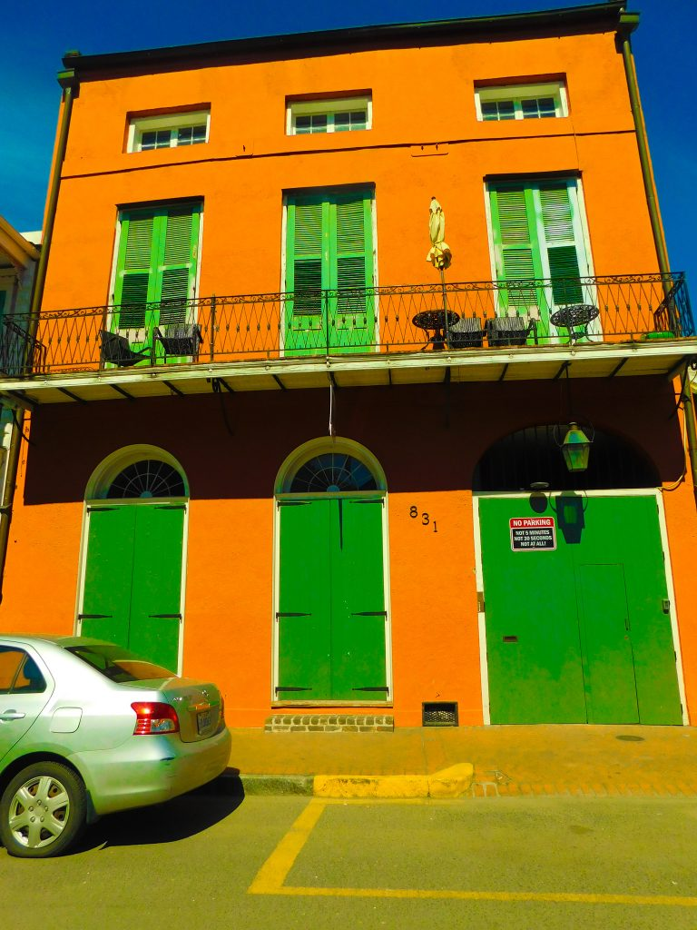 New Orleans Style house: Spanish architecture