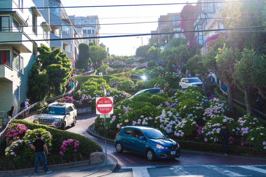 San Francisco Itinerary for 4 days: Lombard Street