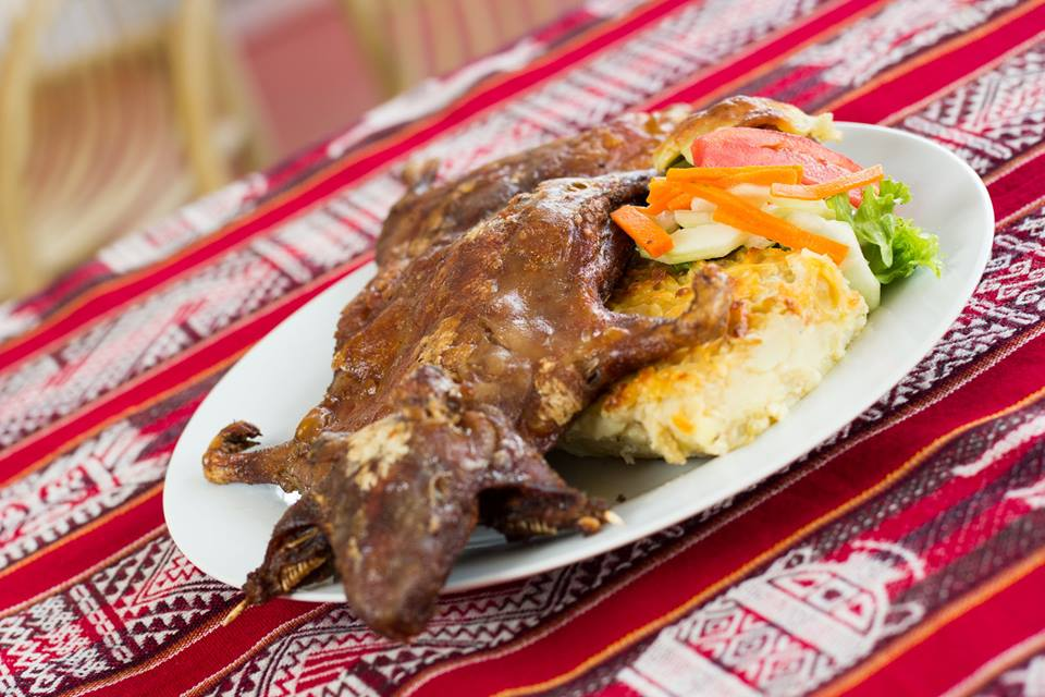 Peruvian Dishes: Cuy
