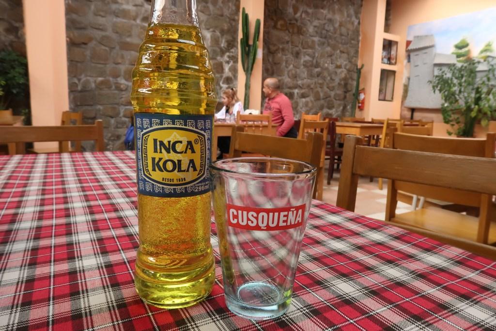 Peruvian Drink: Inca Kola