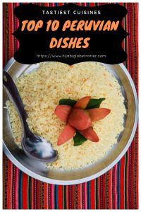 Peruvian Dishes- Pinterest