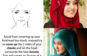 Easy Hijab Tutorial For Round Face
