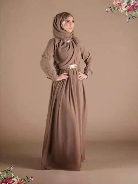 Latest Abaya & Gown Designs with Hijab 2015-2016 (4)