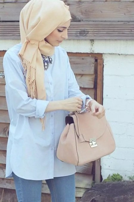 summer hijab outfits